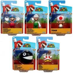"Super Mario 2.5"" Figure Assortment (8ct) RRP £5.99"