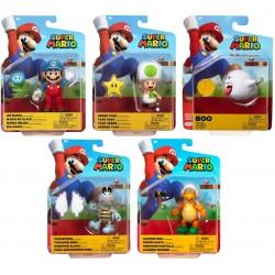 "Super Mario 4"" Figure Assortment (6ct) RRP £10.99"
