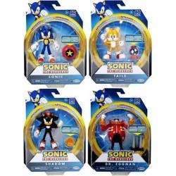 "Sonic the Hedgehog 4"" Figure Assortment (6ct) RRP £10.99"