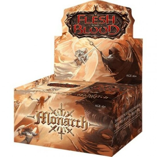 Flesh & Blood Monarch Boosters (24ct) RRP £3.99
