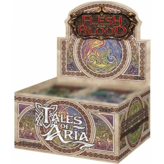 Flesh & Blood - Tales of Aria Boosters (24ct) RRP £3.99