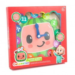 CoComelon Wooden Learning Clock (12ct) RRP £3.99