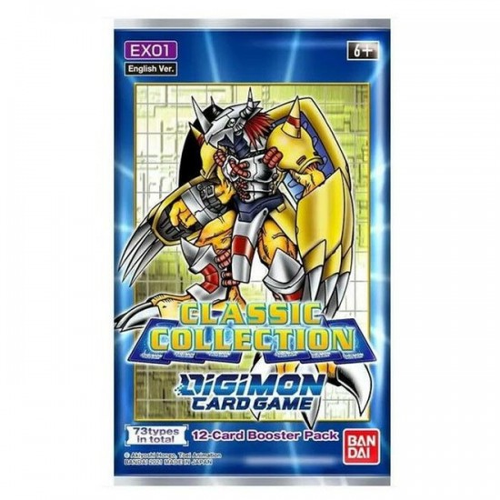 Digimon Classic Collections EX01 (24ct) RRP £3.99 - September