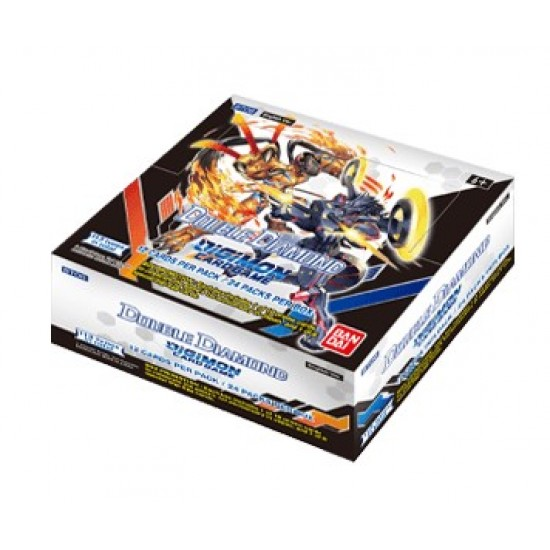 Digimon Double Diamond Boosters BT06 (24ct) RRP £3.99