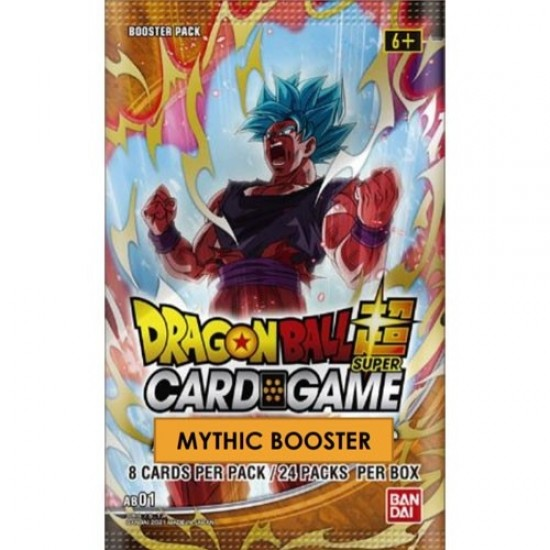 Dragon Ball Z Mythic Boosters (24ct) rrp £4.99 - December
