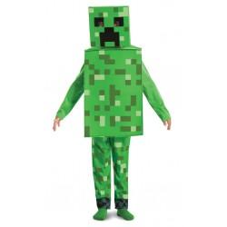 Minecraft Creeper Fancy Dress (Age 7-8) (6ct) RRP £24.99