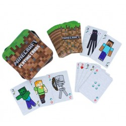 Minecraft Playing Cards in a Tin (12ct) RRP £6.99