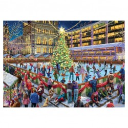 The Ice Rink Jigsaw RRP £12.99