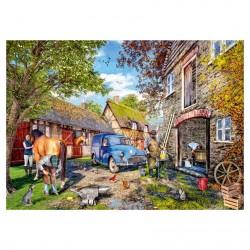 The Blacksmiths Cottage Jigsaw RRP £12.99