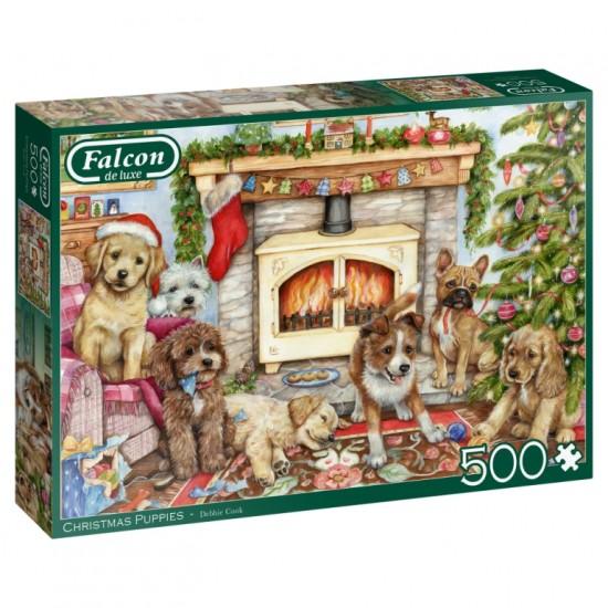 Christmas Puppies 500pc Jigsaw RRP £7.99