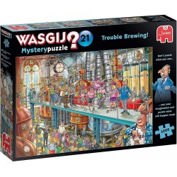 WASGIJ Mystery 21 - Trouble Brewing RRP £12.99