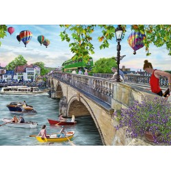 Looking Across The River 500pc Jigsaw - RRP £7.99