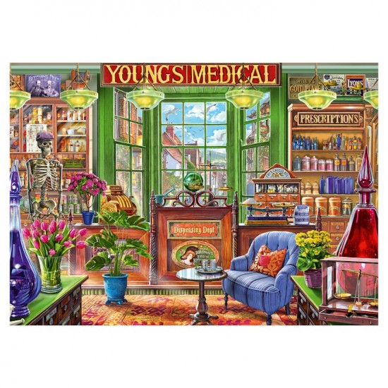 The Pharmacy Shoppe Jigsaw RRP £12.99