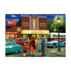 A Trip To The Movies 500pc Jigsaw - RRP £7.99