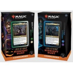 Magic the Gathering Innistrad Midnight Hunt Commander Decks (4ct) RRP £39.99 - September