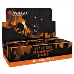 Magic the Gathering Innistrad Midnight Hunt Set Boosters (30ct) RRP £4.99 - September