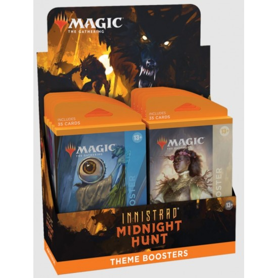Magic the Gathering Innistrad Midnight Hunt Theme Boosters (12ct) RRP £7.99