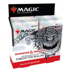 Magic The Gathering: Forgotten Realms Collectors Boosters RRP £24.99 - July 2021
