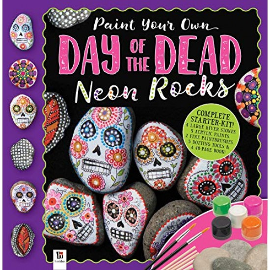 Day of the Dead Rock Painting RRP £9.99