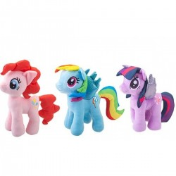 My Little Pony Plush 3 Assorted (6ct) RRP £14.99