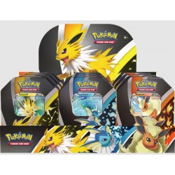 Pokemon Eevee Evolutions Fall Tins (6ct) RRP £21.99 Release date 3rd September 2021 SOLD OUT TO PRE-ORDER