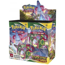Pokemon Evolving Skies Boosters (36ct) RRP £3.99 Release date 27th August 2021 - SOLD OUT TO PRE-ORDER