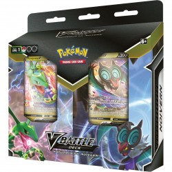 Pokemon Rayquaza/ Noivern Battle Deck Bundle (6ct) RRP £29.99 - October