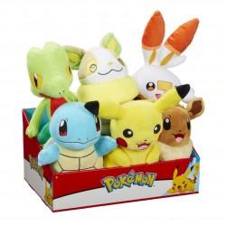 "Pokemon 8"" Assorted Plush Wave 10 (6ct) RRP £13.99"