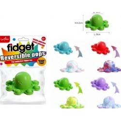 Octopus Fidget Pop - Reversible (24ct) RRP £3.99