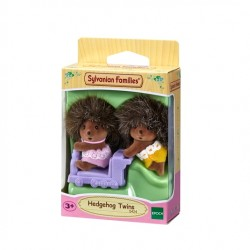Hedgehog Twins (SYL05424) RRP £9.99 - NEW STYLE - Bricks & Mortar ONLY