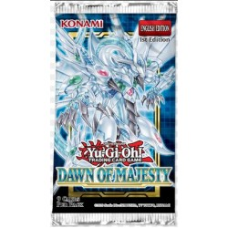 Yu-Gi-Oh Dawn of Majesty Boosters (24ct) RRP £3.59 - August 2021