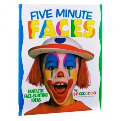 Five Minute Faces Book (1196030) RRP £7.99