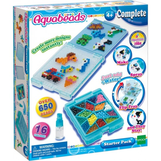 Aquabeads Starter Pack (4ct) (32778) RRP £9.99 Bricks & Mortar ONLY