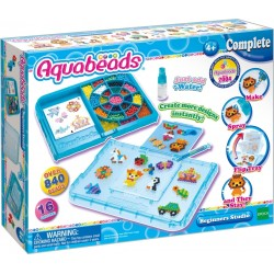 Aquabeads Beginners Studio (4ct) (32788) RRP £14.99 Bricks & Mortar ONLY