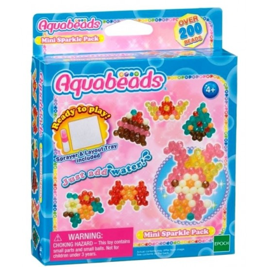 Aquabeads Mini Sparkle Pack (12ct) (32758) RRP £4.99 Bricks & Mortar ONLY