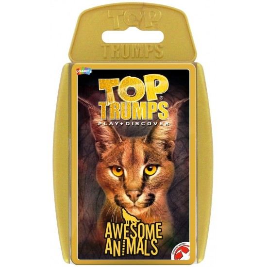 Top Trumps Awesome Animals RRP £6.00