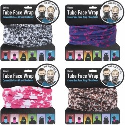 Snood (Ladies) Tube Face Wrap (24ct) RRP £3.99