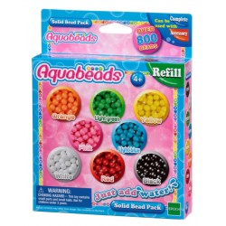 Aquabeads Solid Bead Pack (6ct) (79168) RRP £4.99 Bricks & Mortar ONLY