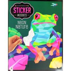 Neon Nature Sticker Mosaics RRP £7.99
