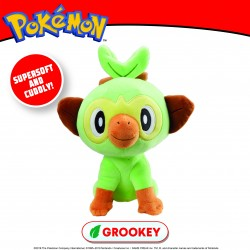 "Pokemon 8"" Grookey Plush (6ct) RRP £12.99"