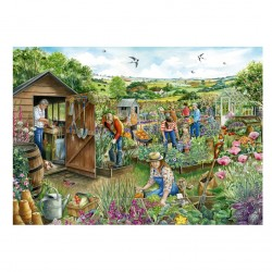 Down at the Allotment Jigsaw RRP £12.99