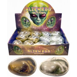 Alien Egg With Baby (12ct) RRP £1.49