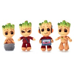 """Baby Groot 12"""" Plush Assorted (8ct) RRP £8.99"""