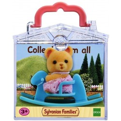 Baby Carry Case (Bear on Rocking Horse) (SYL65199) RRP £7.99 Bricks & Mortar ONLY