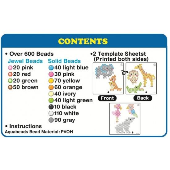 Aquabeads Zoo Life Set (6ct) (31078) RRP £4.99 Bricks & Mortar ONLY