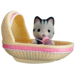 Baby Carry Case (Cat in Cradle) (SYL65198) RRP £7.99 Bricks & Mortar ONLY
