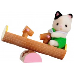 Baby Carry Case (Cat on See-Saw) (SYL65205) RRP £7.99 Bricks & Mortar ONLY