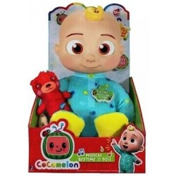"""CoComelon 10"""" Musical Bedtime JJ Doll (4ct) RRP £24.99"""