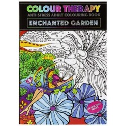 Colour Therapy Book - Enchanted Garden (48 pages) RRP £1.99