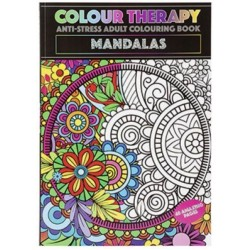 Colour Therapy Book - Mandalas (48 pages) RRP £1.99